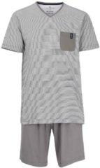 Kurz-Pyjama, gestreift Tom Tailor grey-light-horizontal-stripe