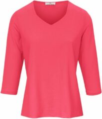 Shirt met 3/4-mouwen Van Peter Hahn rood