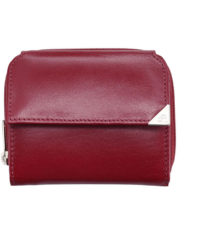 Rode DR Amsterdam Toronto Portemonnee RFID met Rits red Dames portemonnee