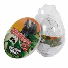 Massamarkt Ei met groeiende dinosaurus 6cm