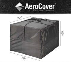 Platinum AeroCover kussentas voor loungekussen 80x80xH60 cm antraciet
