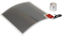 Plieger Heat Anti-condens Spiegelverwarming - 29 x 29 cm 28W