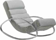 Zilveren Sky Style Lounger Relaxfauteuil Grijs