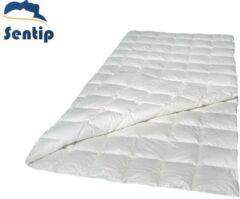 Witte Sentip dekbed ganzendons Sentip dekbed - dekbedden - GANZENDONS - DONZEN - DONS - 200x220 - KATOEN - BAMBOO - all year