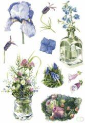 Sieretiketten Herma DECOR aquarel bloemen