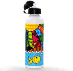 Boomug BiggMug Dance aluminium fles | Voor koude en warme dranken | Limited Edition Design | Gezond op vet het milieu 750 ml | mond Oefening