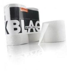 Zilveren Satinos Satino bl. toiletpapier black@ 4 st