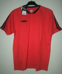 Rode Umbro Coast t-shirt red/navy M
