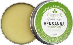 Ben en a Ben & Anna Cream Deodorant Persian Lime 45GR