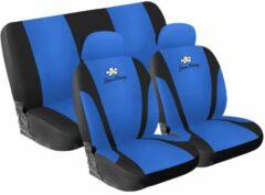 Universeel Simoni Racing Stoelhoezenset Daisy - Blauw - 8-delig