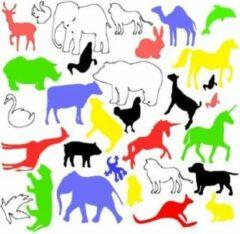 FlexMade.nl Raamfolie Dieren