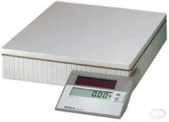Maul MAULparcel S 50 Pakketweegschaal Weegbereik (max.): 50 kg Resolutie: 10 g, 50 g werkt op zonne-energie Grijs