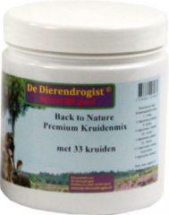 Dierendrogist back to nature premium kruidenmix met 33 kruiden 450 gr