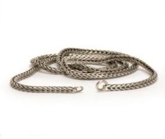 Trollbeads TAGNE-00006 Ketting Vossenstaart zilver (zonder slotje) 50 cm