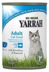 Yarrah - Natvoer Kat blik met Vis Bio - 12 x 400 g