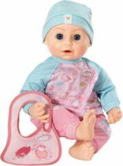 Blauwe @Baby Annabell Lunchplezier Babypop
