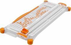 Merkloos / Sans marque Papiersnijder met uitklapbare liniaal A3