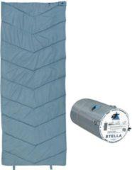 10-T Outdoor Equipment 10T Schlafsack STELLA -7° warm weich 1200g leicht XL Deckenschlafsack 200x80 Blau / Grau