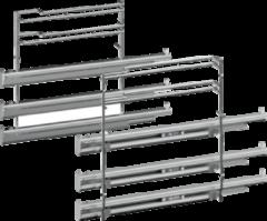 Siemens HZ638370 Bakoven Accessoire - Telescopisch uittreksysteem op 3 niveaus