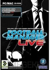 Sega Games Sega Football Manager Live Windows CD Rom