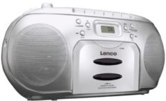Lenco SCD-420 SILVER - Radio/CD/Kassetten-Player SCD-420 SILVER
