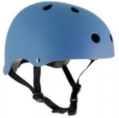 Blauwe Essentials - Skatehelm - Kinderen - Maat: 49-52cm / XS - Blauw
