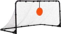 Zwarte Hammer Target Shot Pro - Voetbaldoel met Mikpunt - 182 x 95 x 92 cm