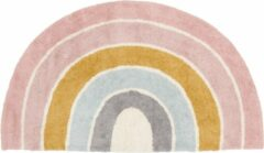 Blauwe Little Dutch Vloerkleed Rainbow shape Pure Pink 80x130cm Multicolour
