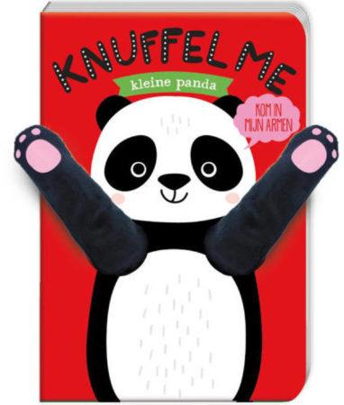 Afbeelding van ImageBooks Boekje knuffel me - Kleine panda