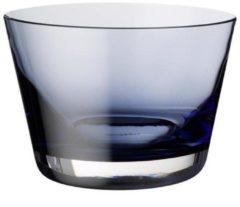 Blauwe Villeroy & Boch Colour Concept - Schaal midnight blue