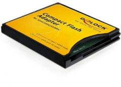 Delock Compact Flash Adapter - Kartenadapter ( MMC, SD, SDHC, SDXC ) - CompactFlash 61796