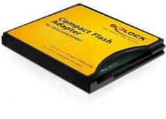 Delock Compact Flash Adapter - Kartenadapter ( MMC, SD, SDHC, SDXC ) - CompactFlash 61796