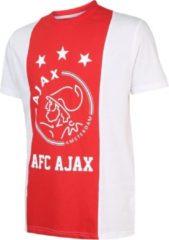 Rode Merkloos / Sans marque T-shirt Ajax Logo Senior Katoen Blanco-S