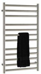 SSI Design Athena handdoekradiator RVS geborsteld 120x50cm 474W