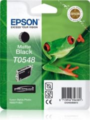 Zwarte Epson inktpatroon Matte Black T0548 Ultra Chrome Hi-Gloss inktcartridge