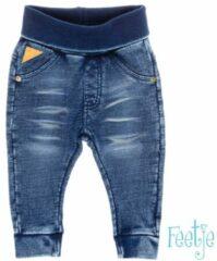 Blauwe Feetje! Jongens Lange Broek - Maat 62 - Denim - Katoen