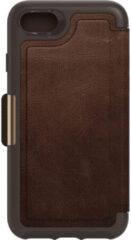 Otterbox Strada Apple iPhone SE 2 / 8 / 7 / 6s / 6 Book Case Leer Bruin