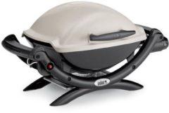 Creme witte Weber Barbecue Q-1000 Titan