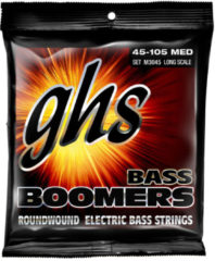 GHS M3045 Medium Bass Boomers Strings 045 bassnarenset