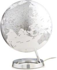Atmosphere Globe Bright Chrome 30cm diameter kunststof voet engelstalig