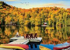 Eurogra Puzzel 1000 stukjes - Lakeside Cottage Quebec