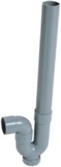 Grijze Wirquin sifon voor wasmachine Ø 40 mm