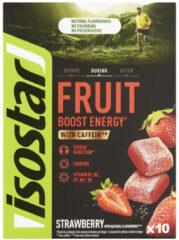 Isostar Fruit jellies Energy Fruit Boost aardbei 10x 10 g