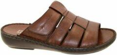 Fbaldassarri -Heren - cognac/caramel - pantoffel/slippers - maat 39