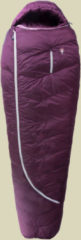 Grüezi bag Biopod DownWool Subzero 175 Lady Schlafsack für Damen Bis Körpergröße: 173cm Farbe: berry