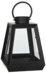 Edelman Montfoort Mica Decorations zwarte lantaarn maat in cm: 22,5 x 22,5 x 30,5 Zwart