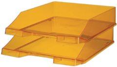 Classic Brievenbakje A4 Transparant geel C4 Polystyrene 25 5 x 34 8 x 6 5 cm
