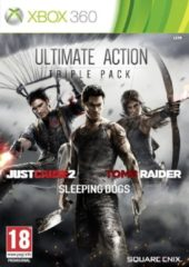 Square Enix Ultimate Action 3-pack: Tomb Raider, Just Cause 2, Sleeping Dogs