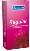 Pasante Pasante Regular Condooms 12 Stuks (12stuks)