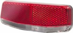 Achterlicht led cordo solo onoffauto 2 aaa 5080mm drager montage - ROOD
